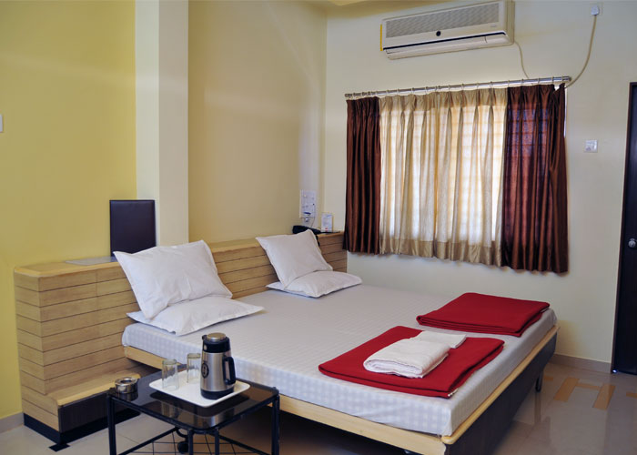 Accommodation in Ajanta Caves